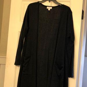 LulaRoe long black sweater